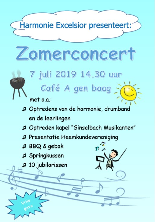 flyer zomerfeest pagina 1